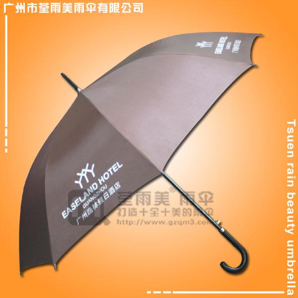 【佛山雨伞厂】定做-逸林假日酒店雨伞  佛山礼品公司  佛山广告雨伞