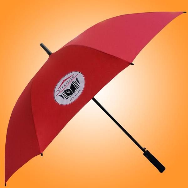 雨伞厂 雨伞厂家 半纤维直杆伞 佛山雨伞厂家 产前教育广告直杆伞