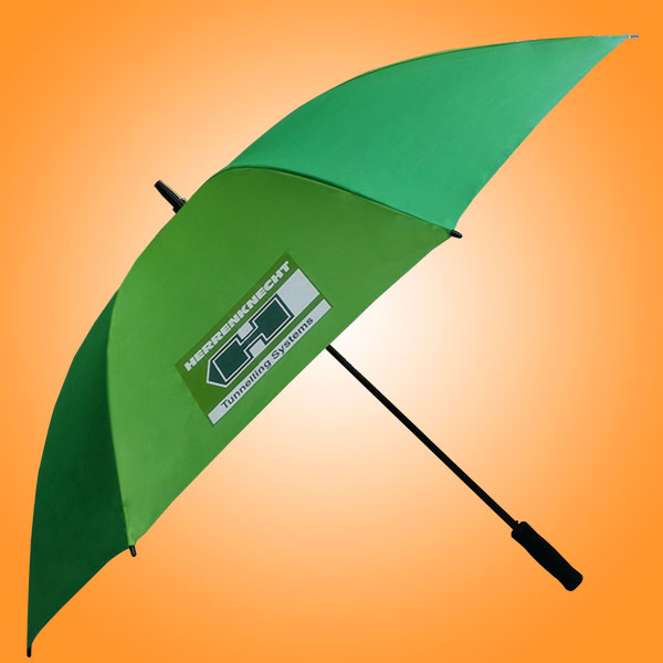 东莞雨伞厂 雨伞介绍 企业logo定制 工厂直销 增城海瑞克广告直杆伞