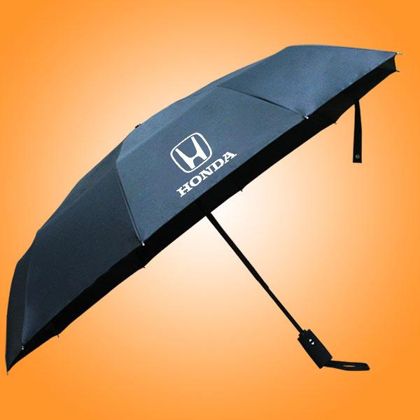 自开收三折广告伞 全自动三折伞 自开收雨伞 三折自开收雨伞定做