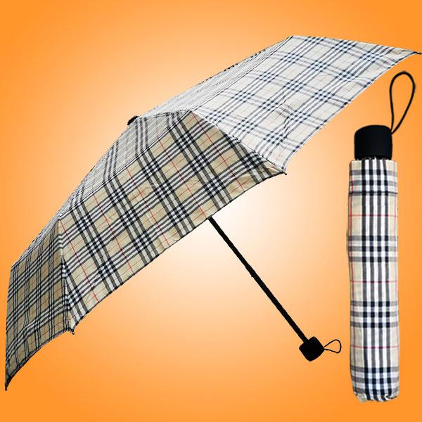 雨伞厂 广州雨伞厂 雨伞厂定做 加工雨伞 色织格三折伞