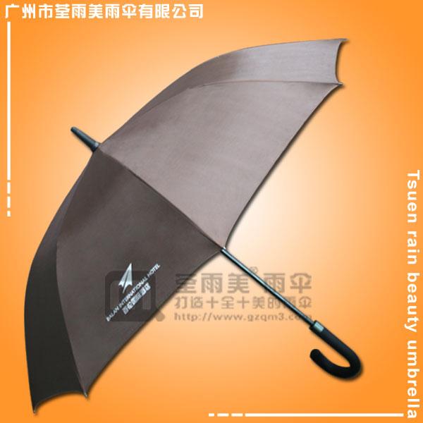 【雨伞厂家】定做-成都百伦酒店雨伞 广告雨伞 雨伞广告 广告直杆伞