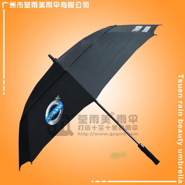 【鹤山高尔夫雨伞厂】定做-富豪汽车高尔夫伞 高尔夫广告雨伞