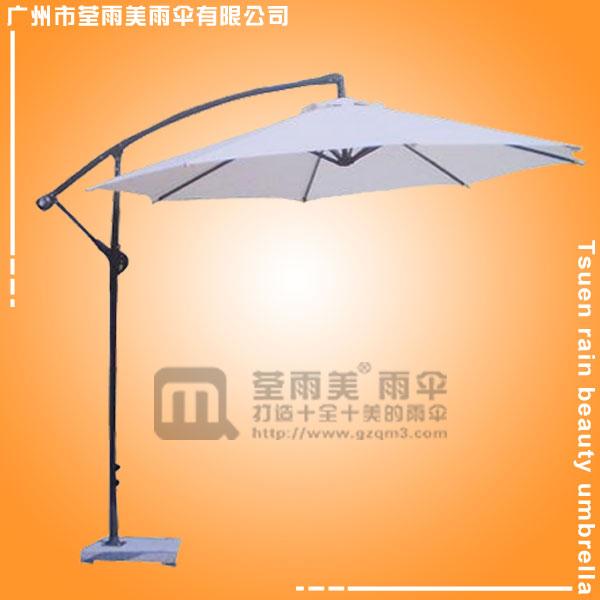 【香蕉伞厂】生产-2.1米白色香蕉伞  展览伞  户外精品伞